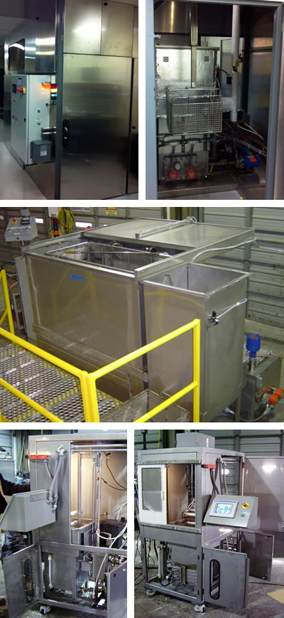 Parts Cleaning Tank Vapor Degreasing Systems Industrial